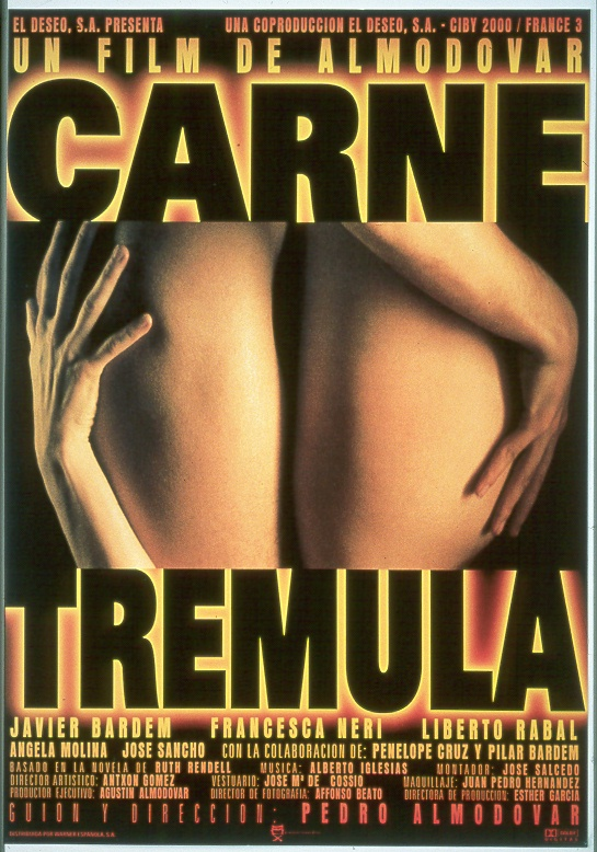 Spanish Poster of �Carne Trémula�